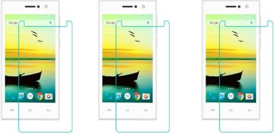 ACM Tempered Glass Guard for Lava A76 4g(Pack of 3)