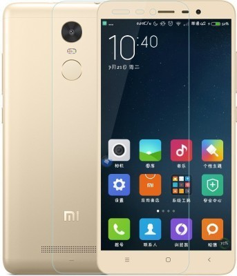 Wmwetech Tempered Glass Guard for Mi Redmi Note 3(Pack of 1)