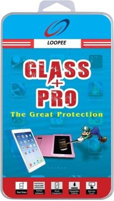 Loopee Tempered Glass Guard for Micromax A105 Canvas Entice(Pack of 1)