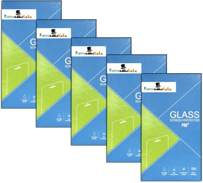 RamuKaka CTG_In_589(Pack of 5) Tempered Glass for Intex Aqua i5 Octa