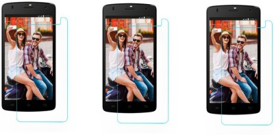 ACM Tempered Glass Guard for Lava Iris Selfie 50(Pack of 3)