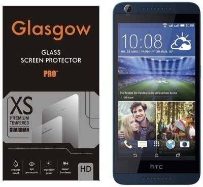 Glasgow Tempered Glass Guard for HTC Desire 626 G+(Pack of 1)
