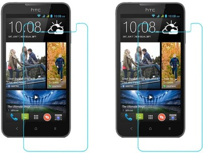 ACM Tempered Glass Guard for Htc Desire 516c(Pack of 2)