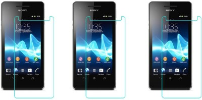 ACM Tempered Glass Guard for Sony Xperia V(Pack of 3)