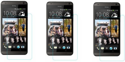 ACM Tempered Glass Guard for Htc Desire 700(Pack of 3)