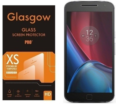 Hello Zone Tempered Glass Guard for Motorola Moto G (4th Generation) Plus