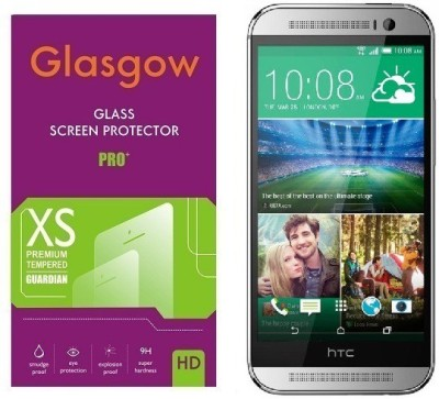 Glasgow Tempered Glass Guard for HTC One M8(Pack of 1)