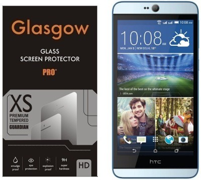 Glasgow Tempered Glass Guard for HTC Desire 826(Pack of 1)