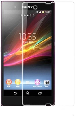 Tecozo Tempered Glass Guard for Sony Xperia Z(Pack of 1)