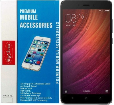 BigChoice Tempered Glass Guard for Mi Redmi Note 4(Pack of 1)