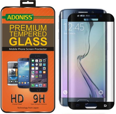 S-Line Tempered Glass Guard for Samsung Galaxy S6 edge plus (White)(Pack of 1)