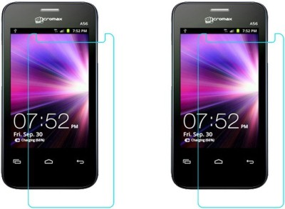 ACM Tempered Glass Guard for Micromax A56(Pack of 2)