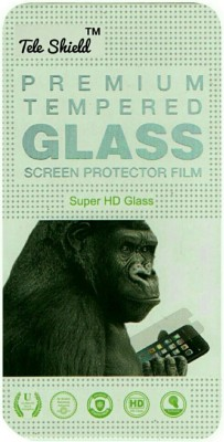 BLACK GORILLA Tempered Glass Guard for MICROMAX CANVAS AMAZE Q395