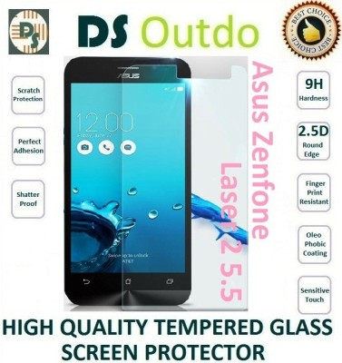 Outdo Tempered Glass Guard for Asus Zenfone Laser2 5.5(Pack of 1)