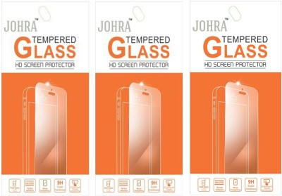 Johra Tempered Glass Guard for Samsung Galaxy S Duos 2(Pack of 3)