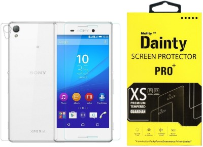 Dainty Tempered Glass Guard for Sony Xperia M4 Aqua Dual (5 inch) (Front and Back)
