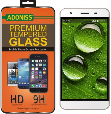 Adoniss Tempered Glass Guard for LYF Water 11 Pack of 1 Adoniss Screen Guards