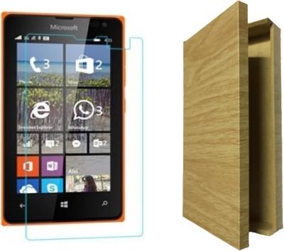 Rigid Tempered Glass Guard for Microsoft Lumia 532