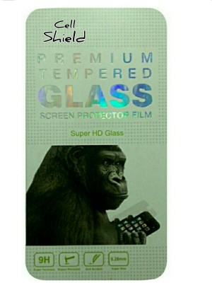 CELLSHIELD Tempered Glass Guard for LAVA IRIS FUEL 60(Pack of 1)