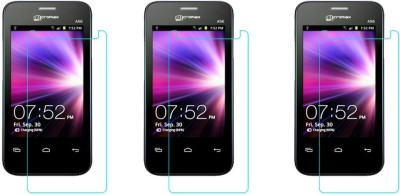 ACM Tempered Glass Guard for Micromax A56(Pack of 3)