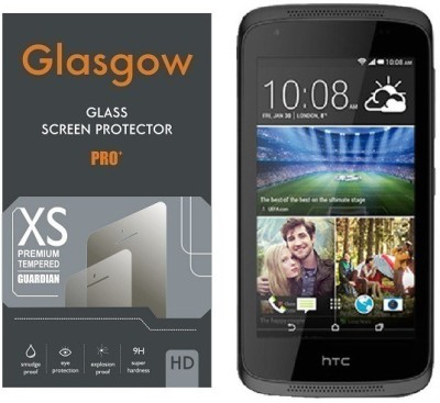 Glasgow Tempered Glass Guard for HTC Desire 326(Pack of 1)