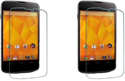 ACM Tempered Glass Guard for Lg Google Nexus 4 E960 (Pack Of 2)(Pack of 2)