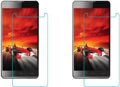 ACM Tempered Glass Guard for Intex Aqua M5(Pack of 2)