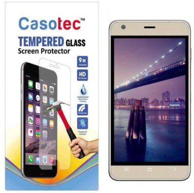 Casotec Tempered Glass Guard for Intex Aqua Life 3(Pack of 1)