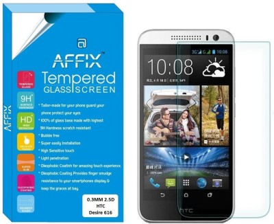 "Affix Tempered Glass Guard for HTC Desire 616 (5.0"" Inch Display)"