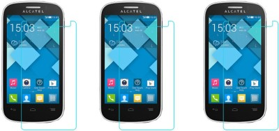 Vimkart Tempered Glass Guard for Alcatel OneTouch Idol 3(Pack of 1)