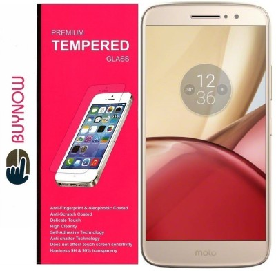 Buynow Tempered Glass Guard for Moto M (5.5 Inch)(Pack of 1)