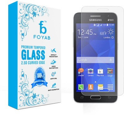 Foyab Tempered Glass Guard for Samsung Galaxy Core 2 Dual SIM (G355H)
