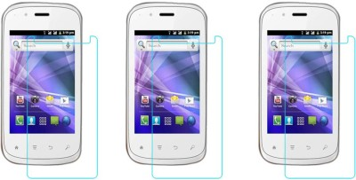 ACM Tempered Glass Guard for Spice Smart Flo Edge Mi-349(Pack of 3)