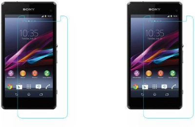 ACM Tempered Glass Guard for (Pack of 2), Sony Xperia Z1 Compact(Pack of 2)