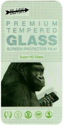 BLACK GORILLA Tempered Glass Guard for Lenovo S660