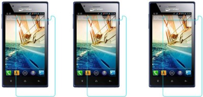 ACM Tempered Glass Guard for Micromax Bolt A075(Pack of 3)