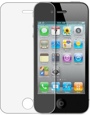 MOBIVIILE Tempered Glass Guard for Apple iPhone 4(Pack of 1)