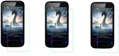 ACM Tempered Glass Guard for Micromax Superfone Canvas A100(Pack of 3)