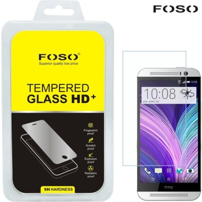 FOSO Tempered Glass Guard for HTC M8(Pack of 1)