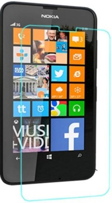 SAMARA Tempered Glass Guard for Nokia Lumia 630(Pack of 1)