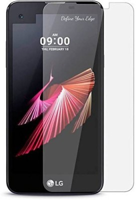 Lively Tempered Glass Guard for LG X Screen K500i(Pack of 1)