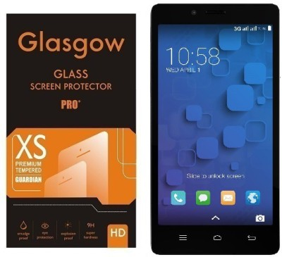Glasgow Tempered Glass Guard for InFocus M330