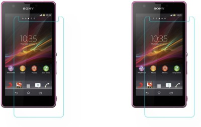 ACM Tempered Glass Guard for Sony Xperia Zr(Pack of 2)