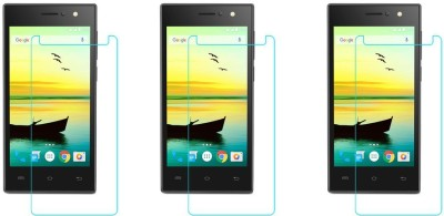 ACM Tempered Glass Guard for Lava A76 Plus(Pack of 3)