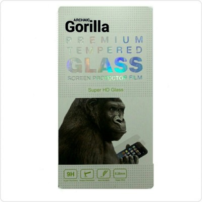 ARCHAIC Gorilla Tempered Glass Guard for MICROMAX CANVAS A77(Pack of 1)
