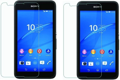 S-Hardline Tempered Glass Guard for Sony Xperia E4g(Pack of 2)