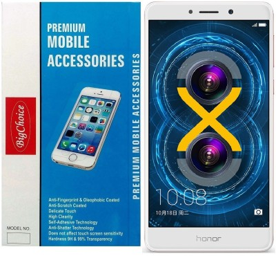 BigChoice Tempered Glass Guard for Honor 6X (5.5 inch)(Pack of 1)