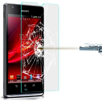 Heartly Tempered Glass Guard for Sony Xperia SP M35H(Pack of 1)