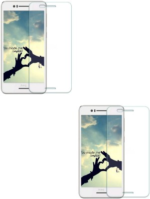 MudShi Tempered Glass Guard for HTC Desire 728(Pack of 2)