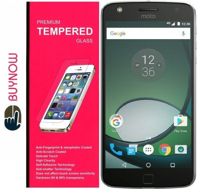 Buynow Tempered Glass Guard for Motorola Moto Z Play Pack of 1 Buynow Screen Guards